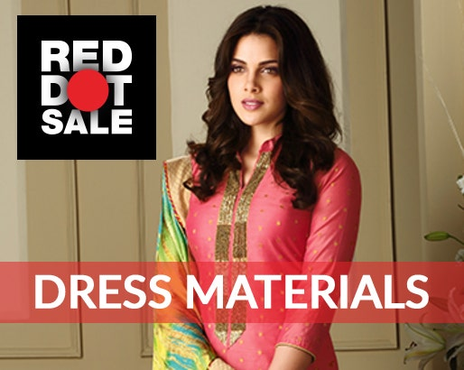 Buy Unstitched Dress Material | Anarkali Suits Online at Best Prices