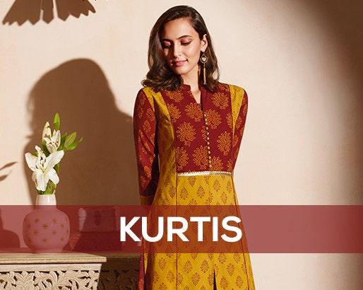 89c145f1047 Soch Teal Cotton Printed Kurti - SMSK KT 46010