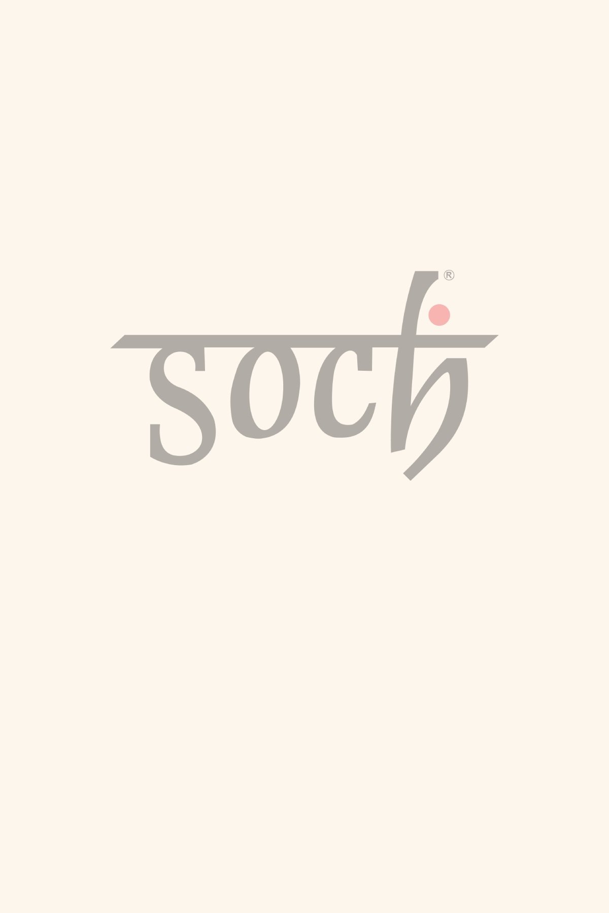 cc710d478a More Views. Soch Pink and Grey Floor Length Anarkali Suit ...